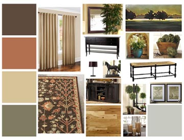 Package options for Interior design concept package